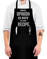 ZOORON Funny Black Chef Aprons for Men Ill Feed All You Fckers Adjustable BBQ Kitchen Cooking Aprons with Pocket Waterproof Oil Proof Father/'s Day//Birthday