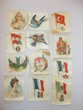 12 Antique NEBO and ZIRA Cigarette SILKS