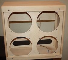 rawcabs 4x10 narrow panel bassman unfinished pine extension speaker cabinet