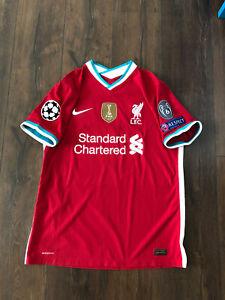 Authentic Nike Vapor Vaporknit Liverpool FC Mane Jersey L Large 20-21 2020-2021
