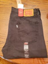 """""""New"""" Levis 514 W34xL34 Straight Charcoal Color"""
