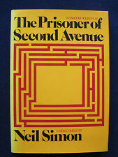 THE PRISONER OF SECOND AVENUE by NEIL SIMON - MIKE NICHOLS Broadway Play 1st Ed