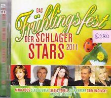 2 CD + Frühlingsfest der SCHLAGER STARS + 40 tolle deutsche Hits + Original 2011