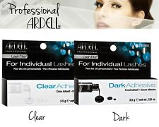 Ardell LashTite Individual False Eyelashes Adhesive Glue Clear & Dark Salon Look