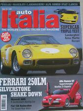Auto Italia 110 Ferrari 250LM, Maserati 300S