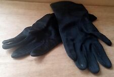 Vintage Gant Neyret Paris Black Gloves Size 7