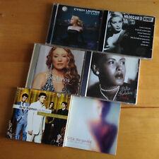 7x CD Konvolut - Tori Amos, Cyndi Lauper, Billie Holiday, Knef, Bernd Begemann