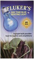 Fluker Labs Reptile Inc&escent Daylight Bulb For Pet Habitat, 60 Watt, Blue