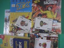 TEX Gioco di Carte con Fumetti Blisterati Completo + N 1 Spillato Aut 478