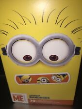 """Despicable ME Bandages Band Aids 20 In Pack Size 3/4""""x3"""" 3 Motives New"""