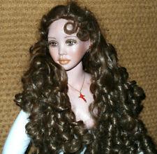 Künstlerpuppe Porzellan Puppe ca. 85cm European Edition 30/50 signiert