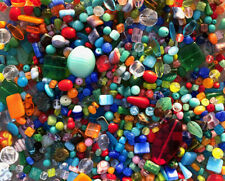 Czech Glass Beads 1lb Bag Of Assorted Shapes And Sizes: Summer Mix
