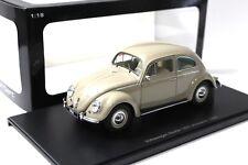 1:18 Autoart VW Beetle escarabajo 1200 Limousine 1955 beige New en Premium-modelcars