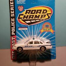 ROAD CHAMPS (43116) 1:43 SCALE DIECAST METAL BENTONVILLE ARKANSAS POLICE CAR