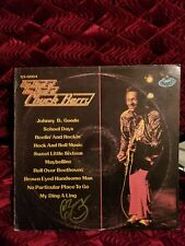 Chuck Berry Autographed The Best Of Used Record