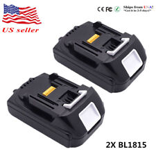 2x 18V 1.5Ah For Makita BL1815 BL1830 Lithium-Ion Compact Cordless Drill Battery