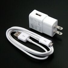 Original OEM 2.0 Amp Wall Charger Micro USB Cable For Samsung Galaxy S4 S3 Note2