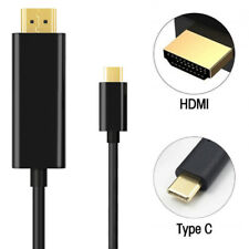 4K USB 3.1 Type-c to HDMI 1080P HDTV Adapter Cable Cord For Macbook Samsung LG