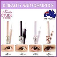 ETUDE HOUSE Tear Drop Eye Liner Eyeliner White Pearl Silver Gold Shimmer Glitter