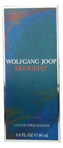 (166,66EUR/100ML) WOLFGANG JOOP FREIGEIST 90ML AFTER SHAVE LOTION NEU OVP
