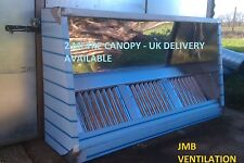 commercial kitchen extraction canopy  2000 x 1200 (6ft) made to order