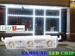 LEDUPDATES STOREFRONT WINDOW SAMSUNG LED LIGHT BRIGHTEST WHITE WITH UL POWER