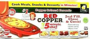 Red Copper Omelet Maker