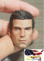 1/6 Bruce Wayne HEAD SCULPT ARKHAM Batman for hot toys Phicen Ganghood ❶USA❶