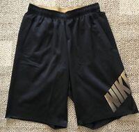 Nike Therma Mens Untouchable Football Training Shorts Black Size Large L 724345
