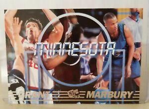 Stephon MARBURY 1997 Press Pass Double Threat #42 /Teamates Paul Grant / Mint