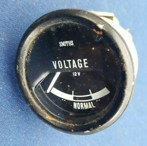 Land Range Rover Classic 2 Door Round Volt Meter, Voltage Gauge Smiths 12V