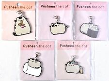 PUSHEEN Cat 5-Pack Keychain Ramen Noodles/Sunglasses/Reading/Marshmallow/Unicorn