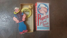 1935 King Features #17 Popeye Pipe Toss Game Used In The Box ( Rare ) America
