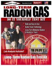 (3) ea Pro-Lab RL116 Long Term Radon Gas Do It Yourself Test Kit  Lab Analysis