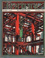 1932 Fortune Octubre - Ballenero;Vermont Mármol;Roosevelt's Fortune; Shell Oil