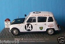 RENAULT 4 RALLY EAST AFRICAN SAFARI 1962 CONSTEN 1/43 UNIVERSAL HOBBIES