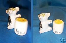 Vintage HONEY BEAR Bear w Honey Salt and Pepper Shakers