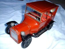 NICE Old Vintage Toy 1915 Ford Tin Car Made in Japan Bandai Friction Motor 302