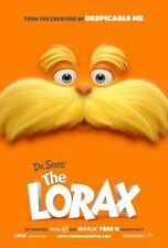 LORAX - 2012 orig 2-sided 27x40 movie poster - TAYLOR SWIFT, ZAC EFRON, B.WHITE
