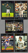 2007 TOPPS COMPLETE 669 card set INCLUDES 8 VARIATION CARDS