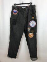 Harlem Globetrotters Platinum FUBU Mens Black  Denim 36  Jeans