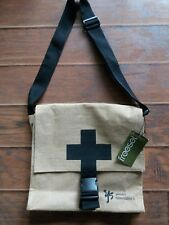 """""""Youth Specialities"""" Burlap Messenger Laptop Carrying Bag"""