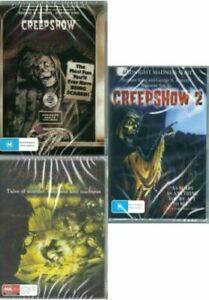 Creepshow 1 2 3 DVD Trilogy Stephen King-Brand New and Sealed Australia