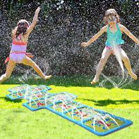 Outdoor Numbers Games For Kids Sprinkler Pad Cartoon Sprinkle Splash Play Mat