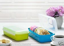 New Tupperware Signature Line Rectangular 980ml 2 pc