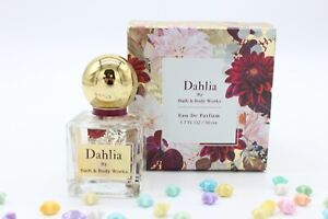 Bath & Body Works Dahlia Perfume Eau De Parfum perfume Spray 1.7 fl oz 50 mL NEW