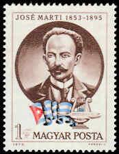 Scott # 2259 - 1973 - ' Jose Marti & Flag '