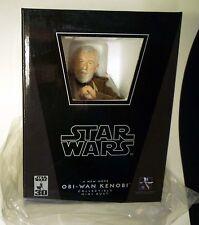 Star Wars Jedi Obi-Wan Kenobi Gentle Giant Deluxe Bust Statue  New from 2007