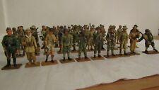 Del Prado Job Lot of 50 Die Cast Soldiers Figures