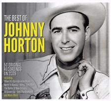 JOHNNY HORTON - THE BEST OF - 50 ORIGINAL RECORDINGS (NEW SEALED 2CD)